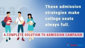 Admission strategies for college